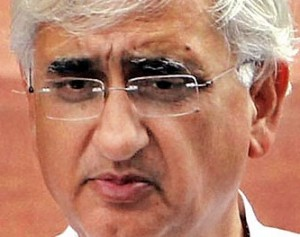 Salman Khurshid - Law Minister