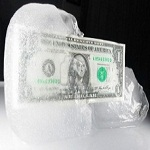 Frozen equity investment